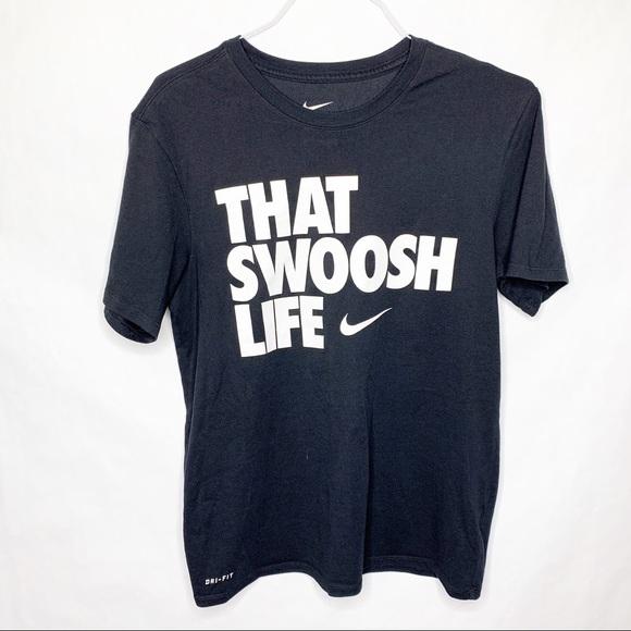 nike shirt swoosh